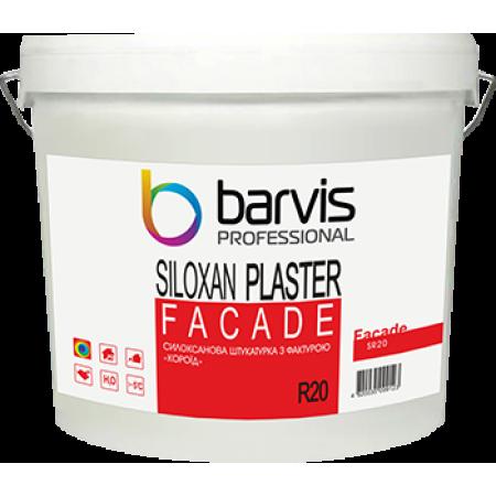 Facade Siloxan Plaster R20